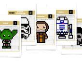 Star Wars : que la pressure soit avec toi pour ces Pixel Artwork