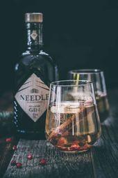 Gin d'hiver chaud délicieusement fruité
