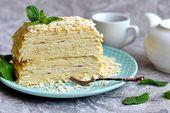"""Photo of Lazy """"Napoleon"""" made from pita bread – tasty, juicy …"""