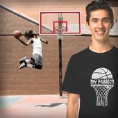 Basketball ist mein Leidenschaftst-shirt   – Things to Wear