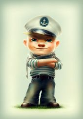 Photo of Sailor Character Design