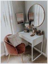 30+ Cool Makeup Vanities Cases Ideas For Stylish Bedroom