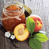 Learn how to make peach jam with this sugar-free freezer jam version.