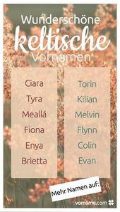 Volontaire et charmante: 64 prénoms celtiques   – engel