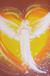 """ENGELBILDER, Kunstfoto: """"Liebevolle Umarmung"""" ღ Wanddeko Bilder – Geschenk zum Jahrestag ღ Geschenke für Sie, Beste Freundin, Herz, Herzbild"""