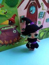 Witch outfit for doll LOL on Halloween, Halloween clothes for LOL Surprise doll,… – For Adele