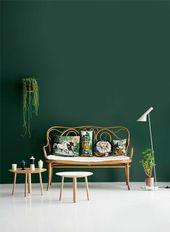 Wandfarben Bilder – 40 inspirierende Beispiele