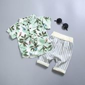 Baby Clothes Suit for Newborns Boy Cotton Clothing Set Summer Fashion Outerweardresskily