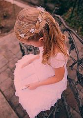 Communion hairstyles festive hairstyles for little girls