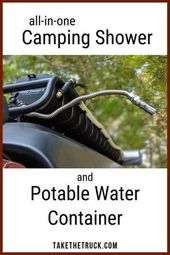 Camping Hacks Shower Camping Gear