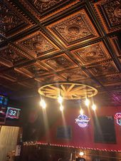 Decorative Ceiling Tiles Basement Ceiling Proceilingtiles Copper Ceiling Faux Tin Ceiling Metal Ceiling Tiles