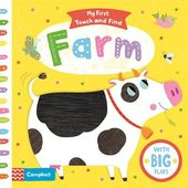 Baby Ilustration Campbell   My First Touch and Feel   Farm Book