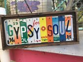 Gypsy Soul sign, license plate sign, boho decor, travel gift, rustic one of a kind gift, unique gift, christmas gift, wanderlust, RV life – gypsy soul