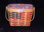 I HAD IT! 1998 25th Annivesary Longaberger Basket….what was I thinking getting…