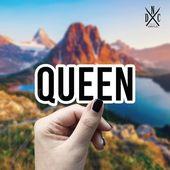Queen Vinyl Sticker, Best Friend Gift, Funny Stickers, Decal, Macbook Decal, Stickers Macbook Pro, L