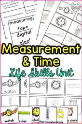 Time and Measurement Life Expertise Unit (Particular Training & Autism Useful resource)
