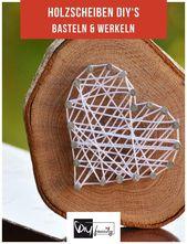 Holzscheiben – 6 DIY-Ideen für eine rustikale Einrichtung – DIY-family