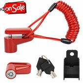 Commercial(eBay) New Anti-Theft Brakes Lock For Xiaomi Mijia M365 Electrical Scooter Skateboard Crimson
