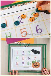 Halloween Counting Printable Free