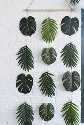 DIY Palmblätter Wanddekoration! Es ist perfekt für Geburtstage, Duschen, Jungg…