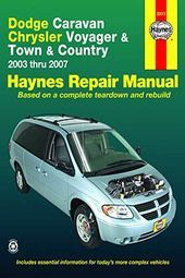 2010 Dodge Caravan Chrysler Voyager Town Country 03 07
