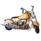 Modell Motorrad Nostalgie Blech Motorrad Vintage Antik Stil 60cm   – Modellmotorrad – Motorbike & Motorcycle