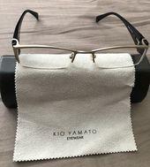 KIO YAMATO KT-291U Designer Eyeglasses Frame Glasses Half-Rimless TITANIUM 51-19… – Products