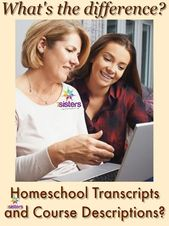 What is the Distinction between Homeschool Transcripts and Course Descriptions?