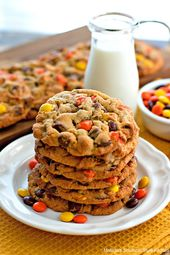 Reese's Peanut Butter Chocolate Chip Cookies – mel…