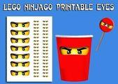 Ninjago Geburtstag Ausdrucke mit Geburtstagsparty Einladungen druckbare Einladung …   – Bricktastic