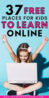 27 Fun and Free Educational Websites For Kids to Learn From Home