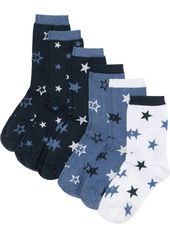 Sports socks in different knit structure