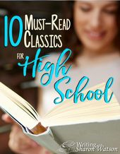 Nationwide Studying Month: 10 Should-Learn Classics for Excessive College