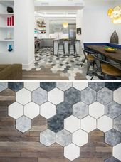 Decorative ideas with hexagon motifs for the interior – 20 inspirations