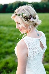 Marriage in the country, of course Wedding blog The Little Wedding Corner – Hair & Beauty – #auf #Beauty #Corner #dem #HAIR