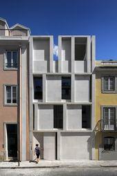 Setzkasten – Wohnhaus in Lissabon von ARX