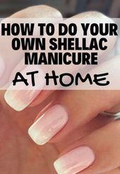 Maniküre zu Hause für schöne Nägel und Hand   – Makeup Tips
