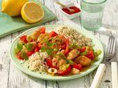 Paprika-Reis mit Huhn