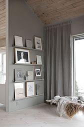 Cuando los muebles adquieren el color de las paredes // Hëllø Blogzine blog deco & l …