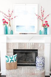 Spring Living Room Refresh Idea