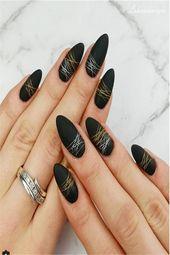 30+ perfect Metallic Nail Art Designs 2019