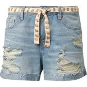 Tom Tailor Denim Damen Jeansshorts mit Gürtel, braun, unifarben, Gr.xl Tom Tail… – Products