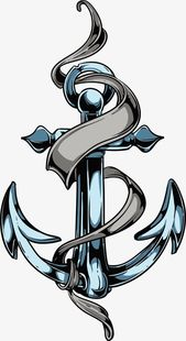 Vector Ribbon Anchor Printing Prints Printing Design Prints Png Transparent Clipart Image And Psd File For Free Download Anchor Tattoos Anchor Drawings Nautical Tattoo