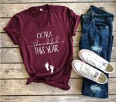 Pregnancy Announcement Shirt, Thanksgiving Shirt, Baby Announcement Shirt, … -… – Rowena Stracke