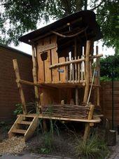 Ein Baumhaus für Kinder im Garten bauen – Nützliche Tipps und Ideen