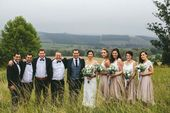 Een elegant huwelijk geïnspireerd door minimalistisch, trendy decor en groen: N…