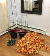 Twinkling Fall Topiary in Just 30 Minutes!