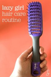 Lazy Girl Hair Care Routine for Wavy Hair
