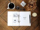 Mi cuaderno deco, diy, organización diaria, decoración y decoración de …