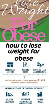 How to lose weight for obese